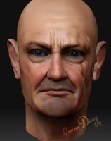 jhon locke lost zbrush by Dark-Adon