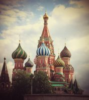 St Basil's Cathedral by LotusVeritas