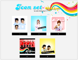 B1A4vn Icon set :3 by trangiiepark