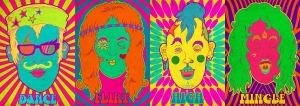 Psychedelic Party by sendalbejatart