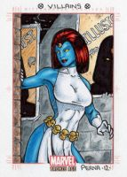 Mystique - Bronze Age by tonyperna