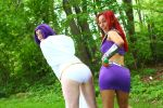 Pop Culture Expo 2014 - Starfire and Raven(PS) 61 by VideoGameStupid