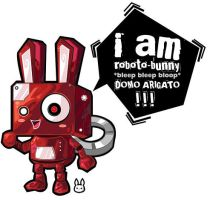 Mr. Roboto-Bunny by bw-inc