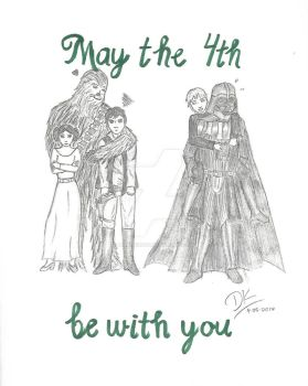 May the 4th Be With You  by NightRiver16