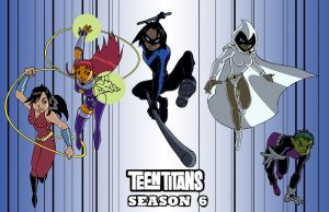 Teen Titans season 6 by Ammotu