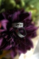 wedding rings by romirose22