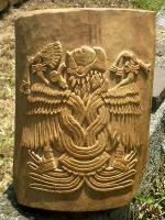 Aztec Eagle Warrior by 10hammers