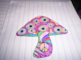 -peace love and shrooms- by marshamyrs