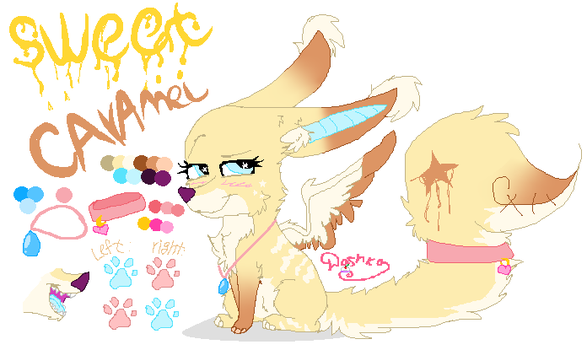 Reference Sweet Candy My Oc(main) by DashkaTortik12222222
