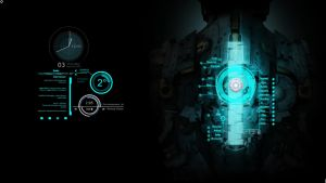 My First Rainmeter Desktop [NOW WITH DOWNLOAD!!!] by DoppeltesRisiko