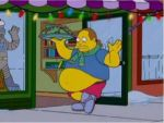 Comic Book Guy stuffed belly by bendavl