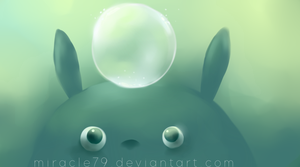 totoro by Miracle79