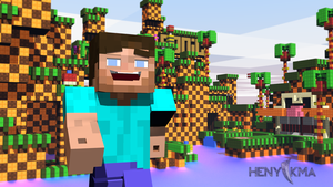 Steve - Minecraft (Wallpaper) by grykonmon
