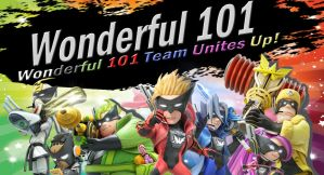 Wonderful 101 Team for SSB4 by Elemental-Aura