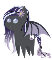 Commission: mini Moon Lily by ForeshadowART