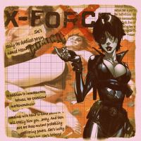 X-Force  Domino by HeroPix