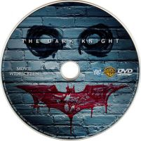 The Dark Knight DVD Disc by guyperson