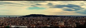 Barcelona Panorama by nervo86