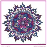 Dear Prudence Mandala My 1000th DEV by Quaddles-Roost