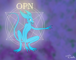 OPN, The Trickster of Oneiroia by TheUnisonReturns