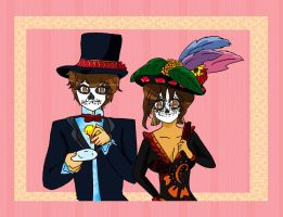 APH  Hetalia North and South  of Mexico by XxHikaru00Xx