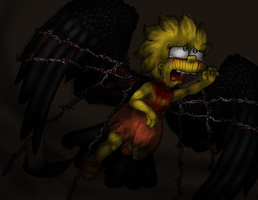 Lisa Simpson- No Escape by cyngawolf