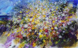 Floral Painting by zampedroni