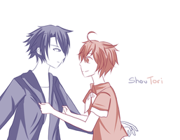 Shou and Tori by MegumiHeart