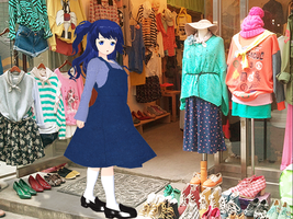Yui visited cloth store Beside ewha university by neko6927