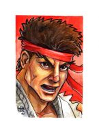sc Street Fighter II Ryu by fedde