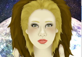 Lion Girl: WIP/Preview 2 by MorbidandMasked
