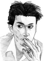 Johnny Depp by disgruntledpeony