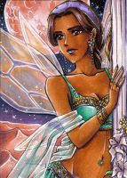 ACEO #34 Desert Fairy by Toto-the-cat