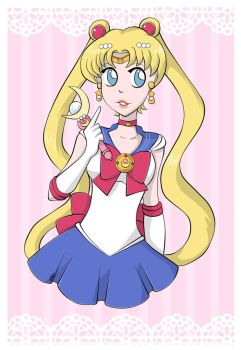 Sailor moon by magicpotion