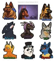 RMFC 2012 Badges by Shadow-Wolf