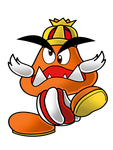 Paper Mario GTS: King Goomba by That-One-Leo