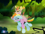 Outdoor exercise by RainbowDashie