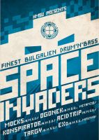 SPACE INVADERS bulgalien dnb by daffonso