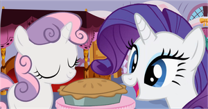 Good job Sweetie Belle by Acuario1602