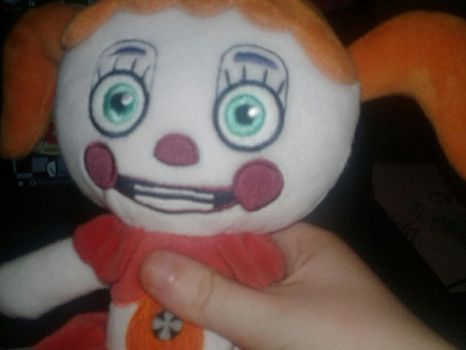 My Circus Baby Plushie by Lexi-Fazbear