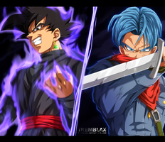 (+video) Black vs Trunks [UPDATED] by RamzyKamen