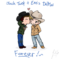 Brokeback Mountain -chibified- by RastaPickney-Juls