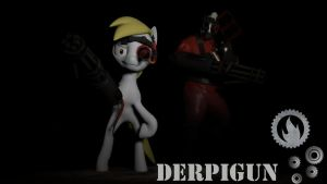Elements of Insanity- Derpigun (6/7) by TheInvertedShadow