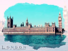 Palace of Westminster by freaky-x