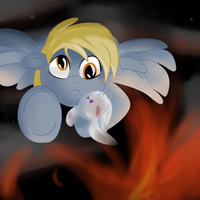 Derpy to the Rescue by GarlandGala
