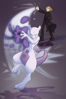 Mewtwo I choose you by lizspit