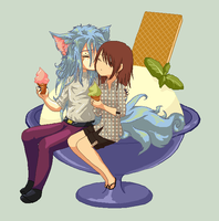 .:Open collab:. ice cream by kanogt