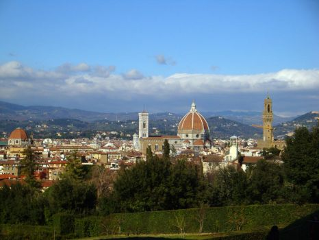 Florence view by Kyriash