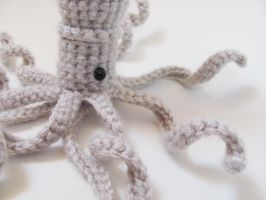 Amigurumi Squid 2 by MevvSan
