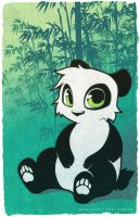 Cute Animal Series - Panda by argibi